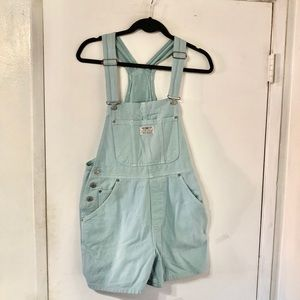 Vintage 80s RED TAB Levi's Overalls Shorts USA